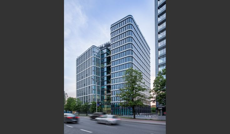 Nimbus Office Tower, Warsaw-Poland, Bose International Planning and Architecture