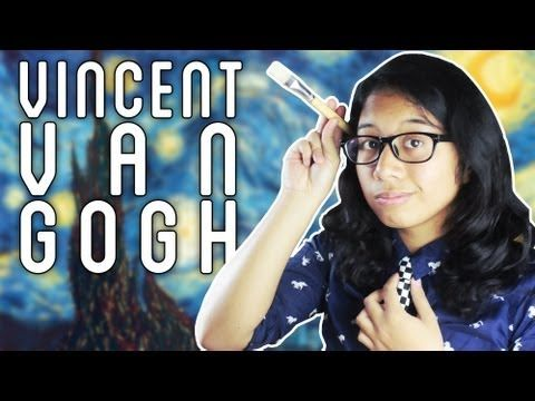 """""""The Sad Life of Vincent Van Gogh"""" by Quirky and Nerdy. Great short on his life! (except for butchering Gaughin's name)"""