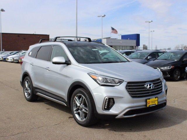New 2017 Hyundai Santa Fe Limited Ultimate SUV for sale in Bloomington, MN.   #hyundai #lutherauto #bloomingtonmn