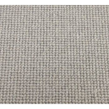 Manx Natural Shades Plain Clay 50% Wool 50% Polypropylene Grey Loop Carpet