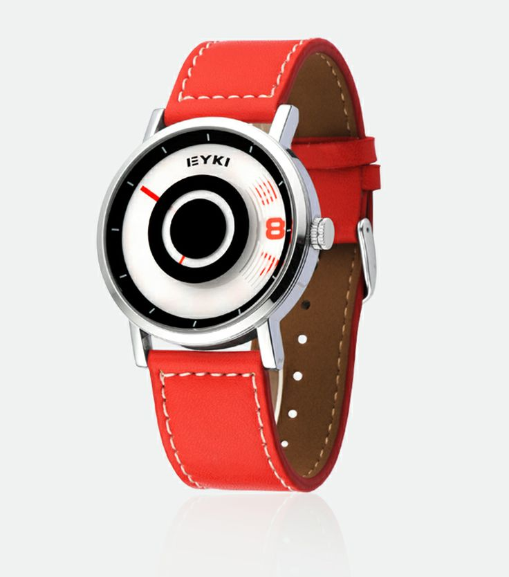 Armbandsur Eyki - Stratus (röd) #eyki #kimio #sportklocka #sportklockor #armbandsur #klocka #klockor #herrklocka #herrklockor #runns #watch #watches #nato #natoband #overfly