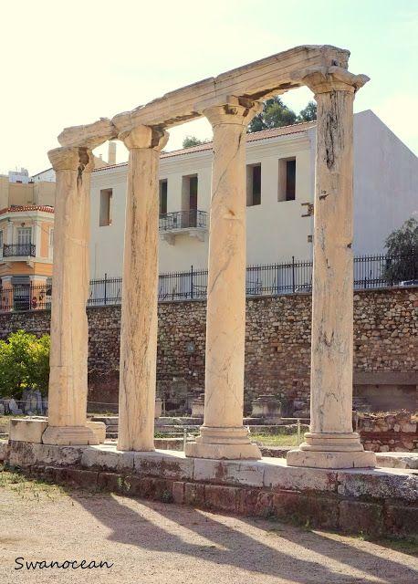 Library of Hadrian-Βιβλιοθήκη του Αδριανού