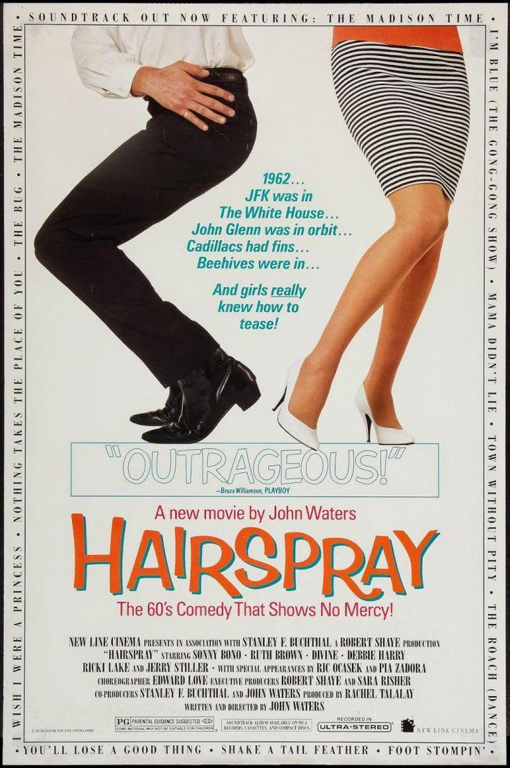 Hairspray Movie Poster (1988)