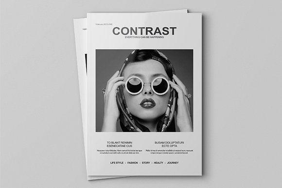Magazine Mock-Up by PositivePixels on @creativemarket