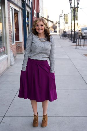 This blog has links and prices to every outfit! LDS missionary appropriate clothhis blog has links and prices to every outfit! Below the knee skirts. Sister Missionary. Modest clothing. Rae Photography Blog.