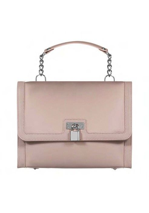 Bag BELLA - iBag Nude/Soft Pink MADE IN ITALY  Shop now on www.dezzy.it