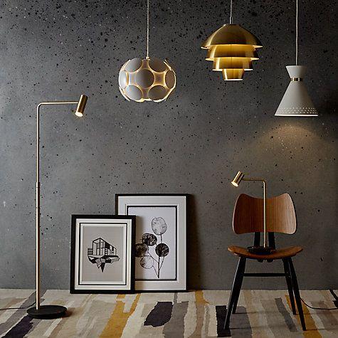 Buy John Lewis Oslo Ceiling Light, Brass Online at johnlewis.com
