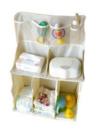 حقيبة معلقة سرير أطفال نيلون بيج مفيدة