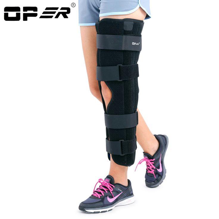 OPER Medical patellar knee support leg Fixation Brace Knee Fracture Stent Meniscus Ligament Injury Knee Stabilize No Adjust KN30
