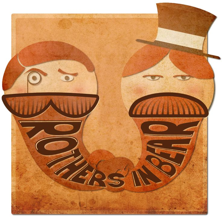 Official Brothers in Beard logo