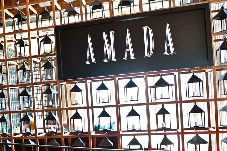 Amada at Revel, the Atlantic City outpost of Chef Jose Garces' famous Philadelphia tapas restaurant.