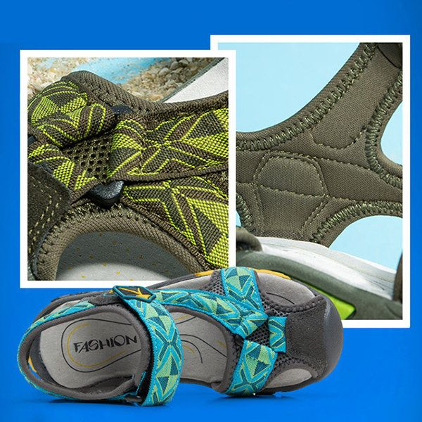 Soft Squishy Light Breathable Suspension Soled Sandals For Boys
