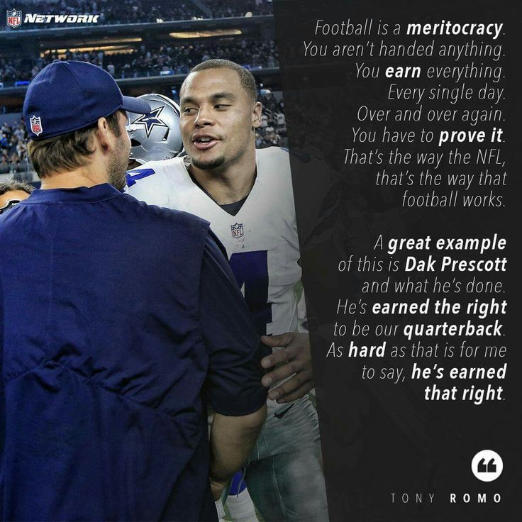❤ Tony Romo ❤Dak Two of the best quarterbacks in the NFL. And on the same team; our team. Hope it stays that way for years to come #DC4L