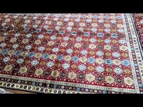 Customized handmade silk carpet from Yilong Carpet…