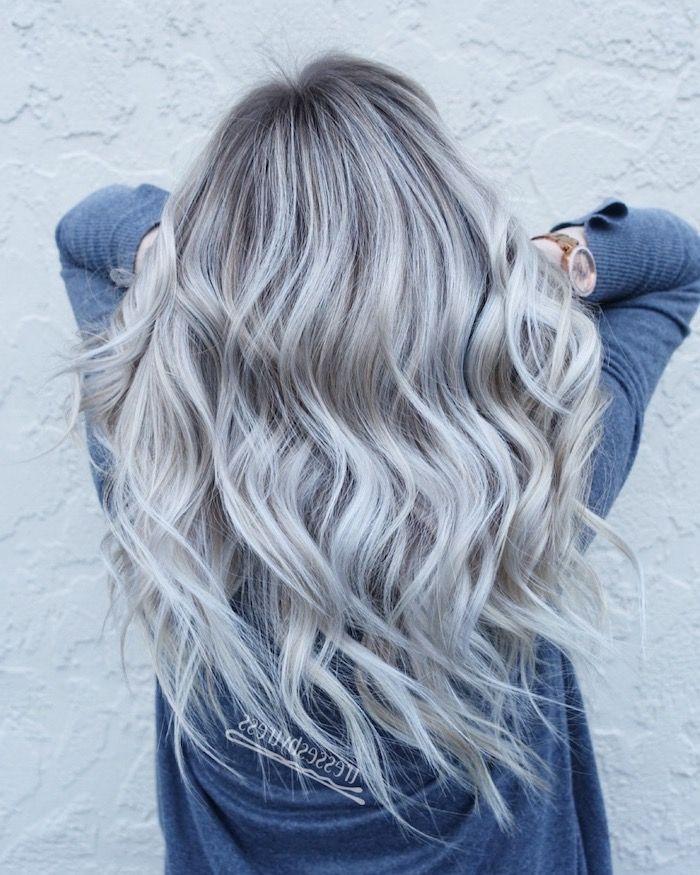▷ 1001 + Ideen für Silberblond als Haarfarbe, die Ihnen inspirieren