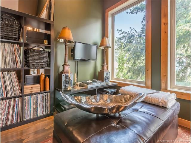 Master Suite Lounge and Record Library