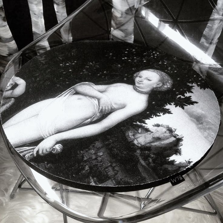 SIDDEHYNDE NO.1 - Venus og Honningtyv  - Ø36 - STATENS MUSEUM FOR KUNST www.houseofbk.com
