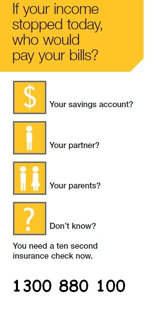 If your income stopped today, who would pay your bills?