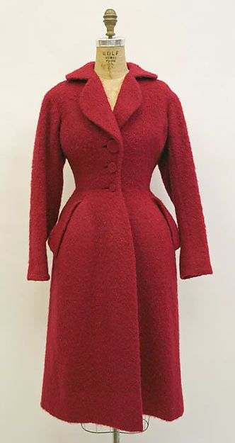 Coat - MMA Designer: Charles James  Date: 1953 Culture: American Medium: wool