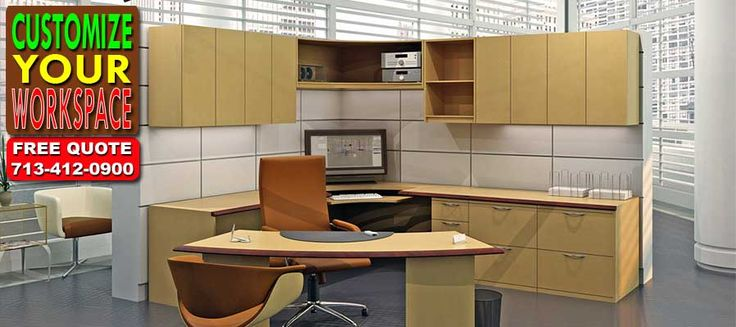 Call Us For A FREE Discount Office Furniture Quote 713-412-0900 We Offer Modular Office Cubicle Sales, Installation, Moving & Free Office Design Services