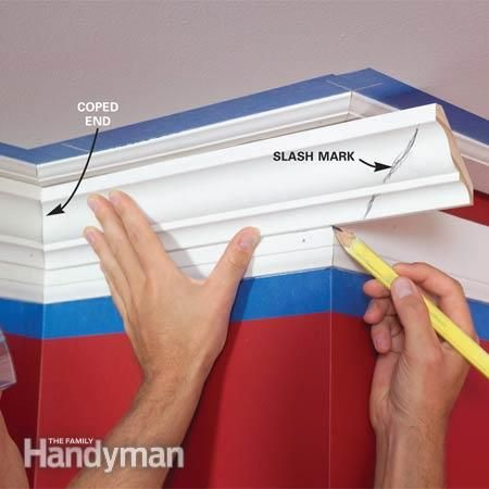 How to Install Crown Molding: Three-Piece Design