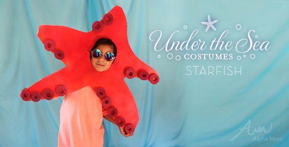 DIY Under,the,Sea Costumes Starfish!
