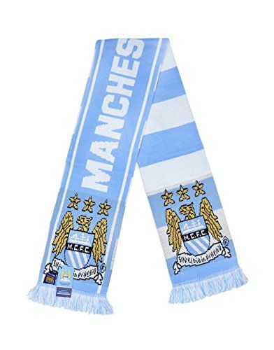 Official Manchester City F.C. Knitted Scarf