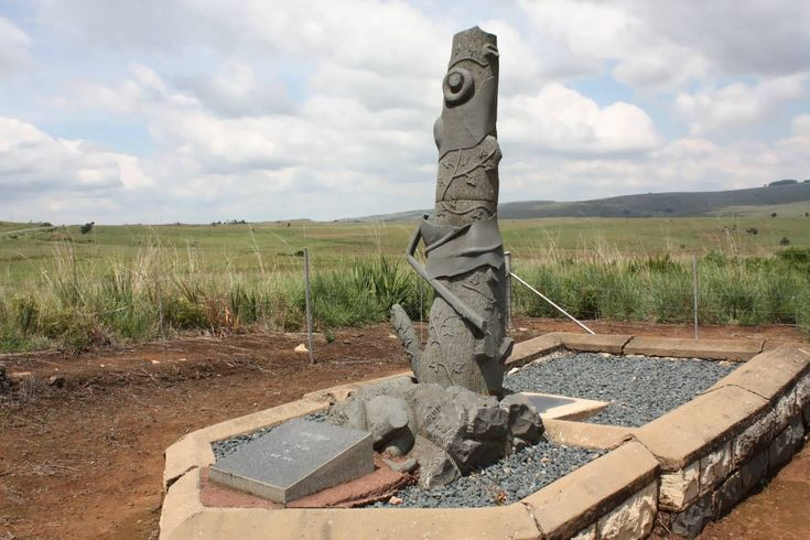 Memorial - Anglo Boer War 1899-1902.  KRIGE J.J. -1901; VAN VURE H.J.J. -1901; COETZER D.J. -1901; VAN DER MERWE L.J. -1901; DU PREEZ A.J.-1901; VAN ZYL -1901; COETSEE M. -1901. Mpumalanga, LYDENBURG district, Dullstroom, Kleinzuikerboschkop, Ouhoutbossie, Burgher Memorial