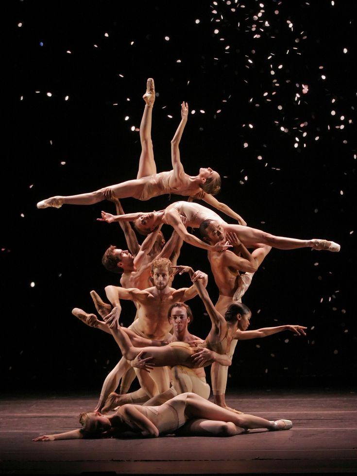 New York City Ballet performing Christopher Wheeldon's 'Fools' Paradise'. Photo by John Ross.