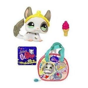 Littlest Pet Shop Purse Carry Case Chinchilla