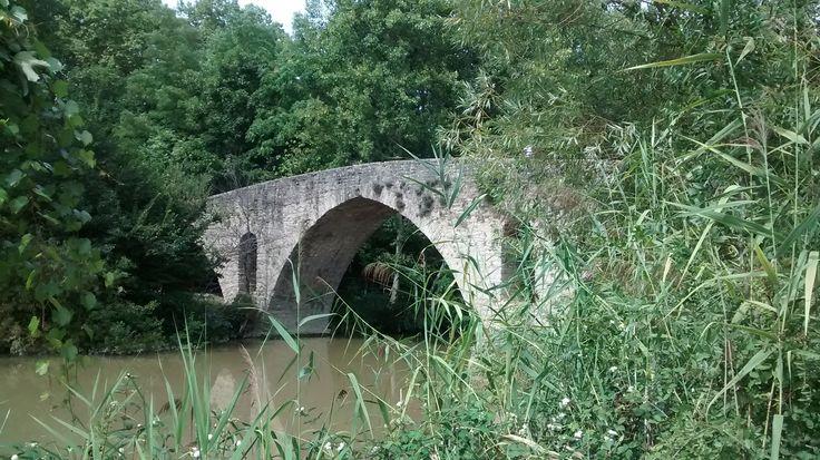 Pamplona / Iruña en Navarra - Puente de la Magdalena #MiCamino