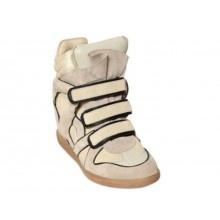 Isabel Marant Wila High-Top Strip Sneaker