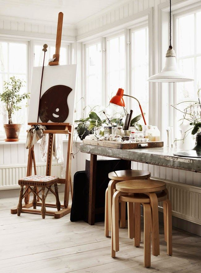 A beautiful, creative home - in constant change | style Inspiration