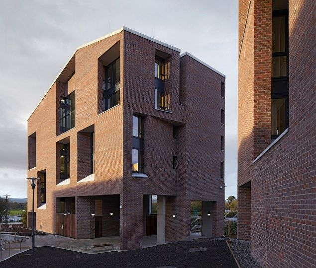 University of Limerick by Grafton Architects. Photo:Dennis Gilbert/View