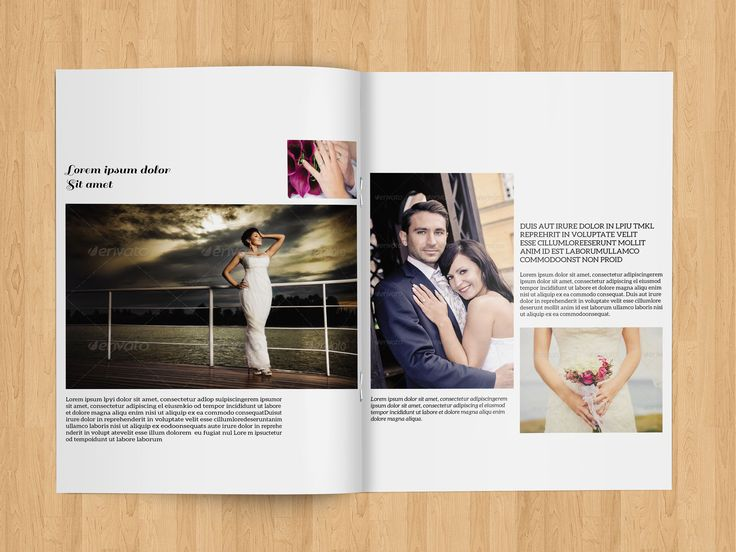 The Best Wedding Brochure Ideas On Pinterest Photography - Wedding brochure template