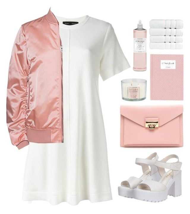 """Bomber Jacket"" by helloume ❤ liked on Polyvore featuring Proenza Schouler, Acne Studios, Baylis & Harding, Williams-Sonoma, Christy and fashionset"