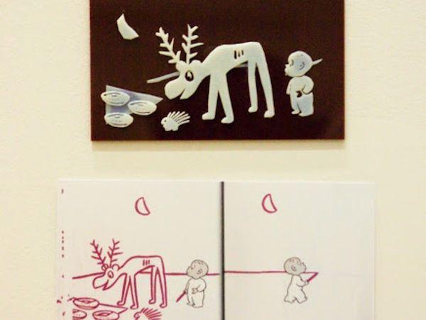 Emplean la impresión 3D para que niños ciegos puedan saber cómo son las imágenes de un libro infantil