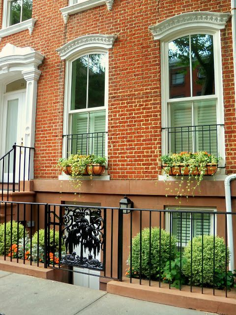 Small Front Yard Landscaping Ideas Townhouse : Best images about front porch on gardens