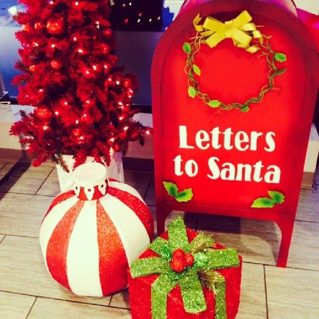 Bring your letters for Santa to Serano by December 3rd and he'll write back!!! Sanata Clause, North Pole, HOH OHO
