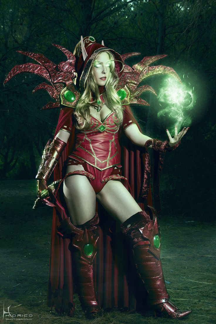 World of Warcraft cosplay: Valeera Sanguinar