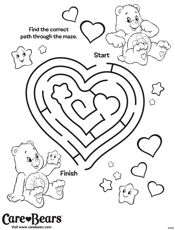 funshine cear coloring pages - photo#18