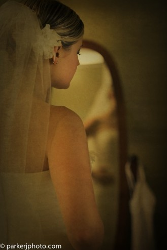 Bride before the Big Moments!
