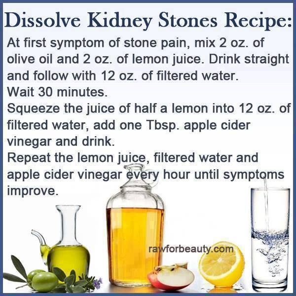 Natural Cures For Dissolving Kidney Stones
