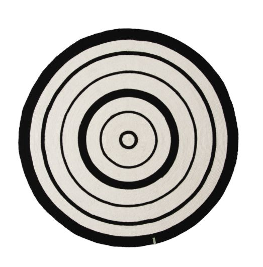 Cirkel Tapijt - speelkamer mano en kobe