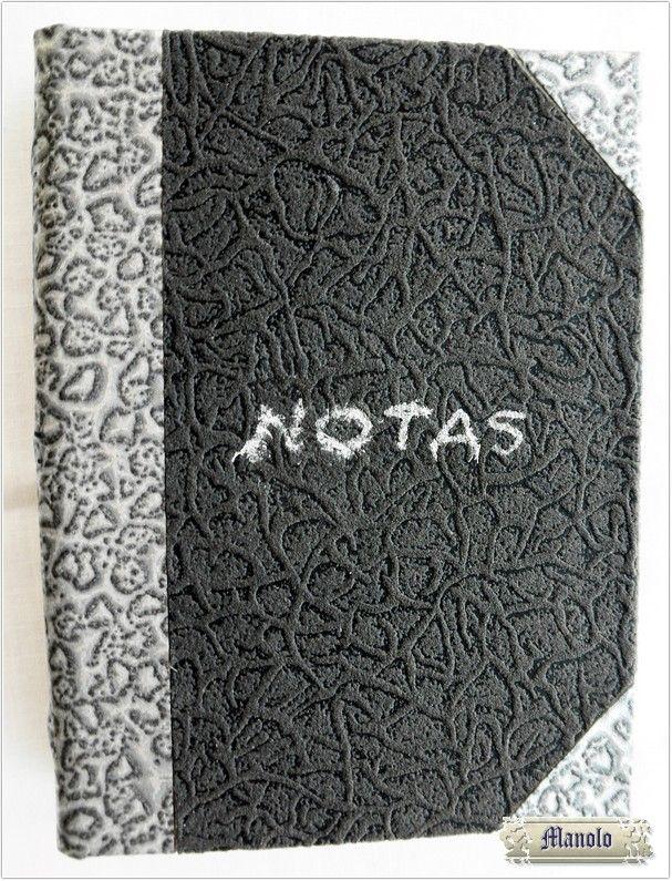 Agenda notas Bookbinding http://petry.es/category/manolo/encuadernacion/