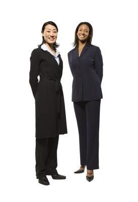 When you first enter or are in the business world, you must know how to dress appropriately for any given situation. What you wear for an interview or career fair is likely to differ from your ...