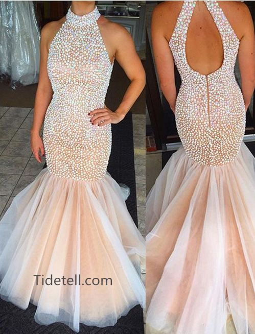 2016 prom dresses, mermaid long prom dresses, backless prom dresses, evening dresses