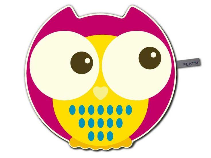 New Owl - Eule / Kinderteppich