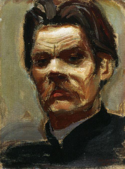 AKSELI GALLEN-KALLELA  Portrait of Maxim Gorky