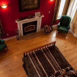 master bedroom from loft/office